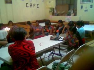 taller grupo de mujeres