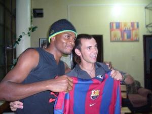 Henrrym Camerún Africa y un español en Nuestro Hostal